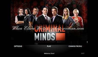 Criminal Minds Game - Main Menu