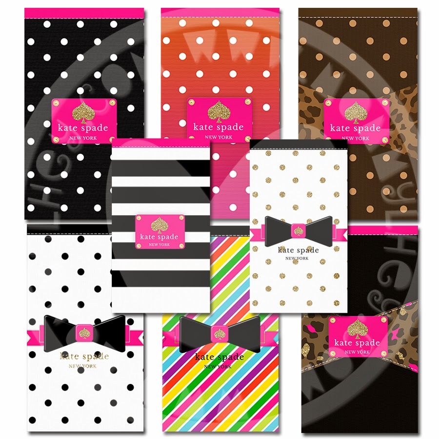 Bien connu Kate Spade Glam Wallpaper Pack | Mommy Lhey JZ65