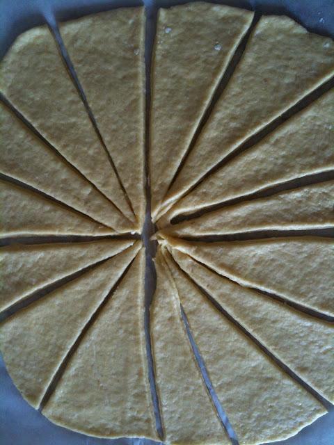 bimby, croissant alla marmellata