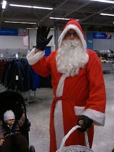 Joulupukkipalvelu Tampereen pääsivusto
