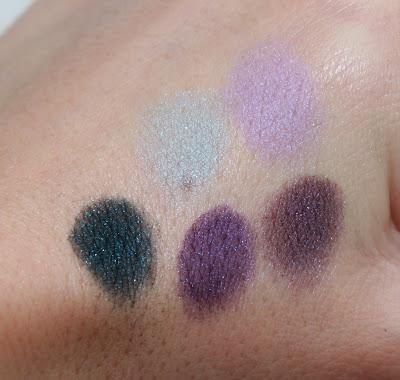 ysl yves saint laurent palette n°1 Jardin de Minuit automne 2011 test avis essai maquillage swatch