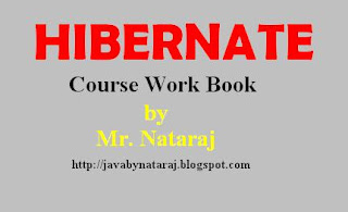 Hibernate Notes by Nataraj sir from Sathya Technologies