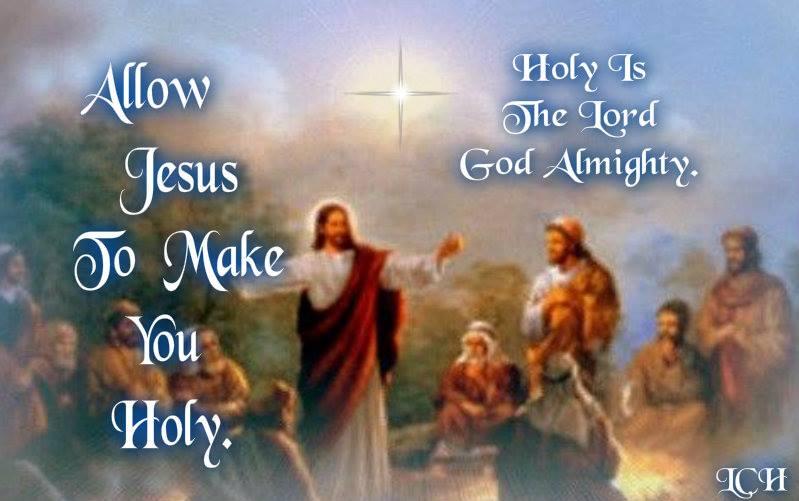 Allow Jesus