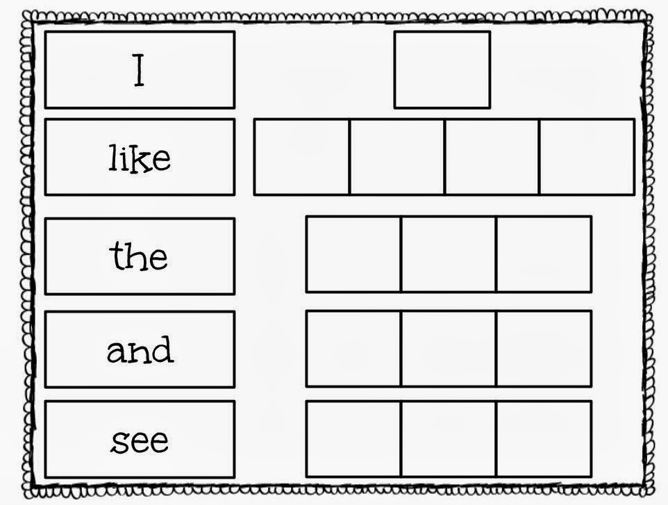 NEW 511 SIGHT WORD WORKSHEET FOR LIKE – Sight Word Like Worksheet