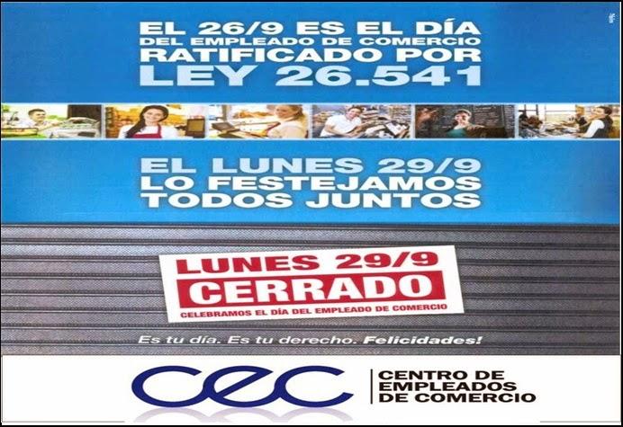 ESPACIO PUBLICITARIO:CENTRO EMPLEADOS DE COMERCIO