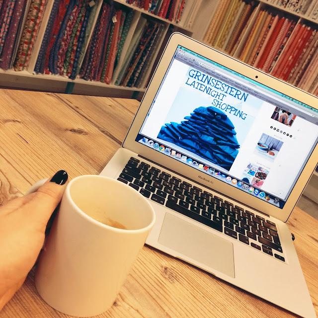 latenightshopping, grinsestern, onlineshop, stoff kaufen