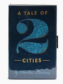 kate spade A Tale of 2 Cities book clutch