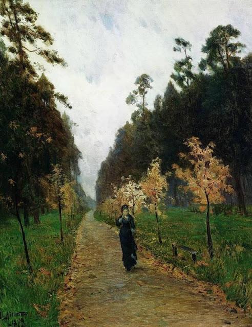 Isaac Levitan, Φθινοπωρινές ημέρες. 1879.