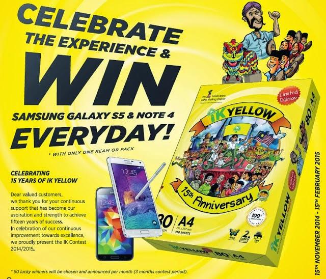 Win Samsung Galaxy S5 Note 4