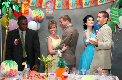 Adult birthday party ideas fun wedding reception games for Birthday games ideas for adults