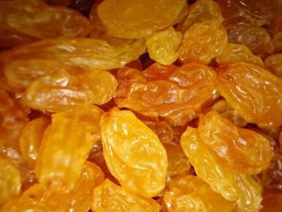 Recettes Légumes-Petits oignons aux raisins secs