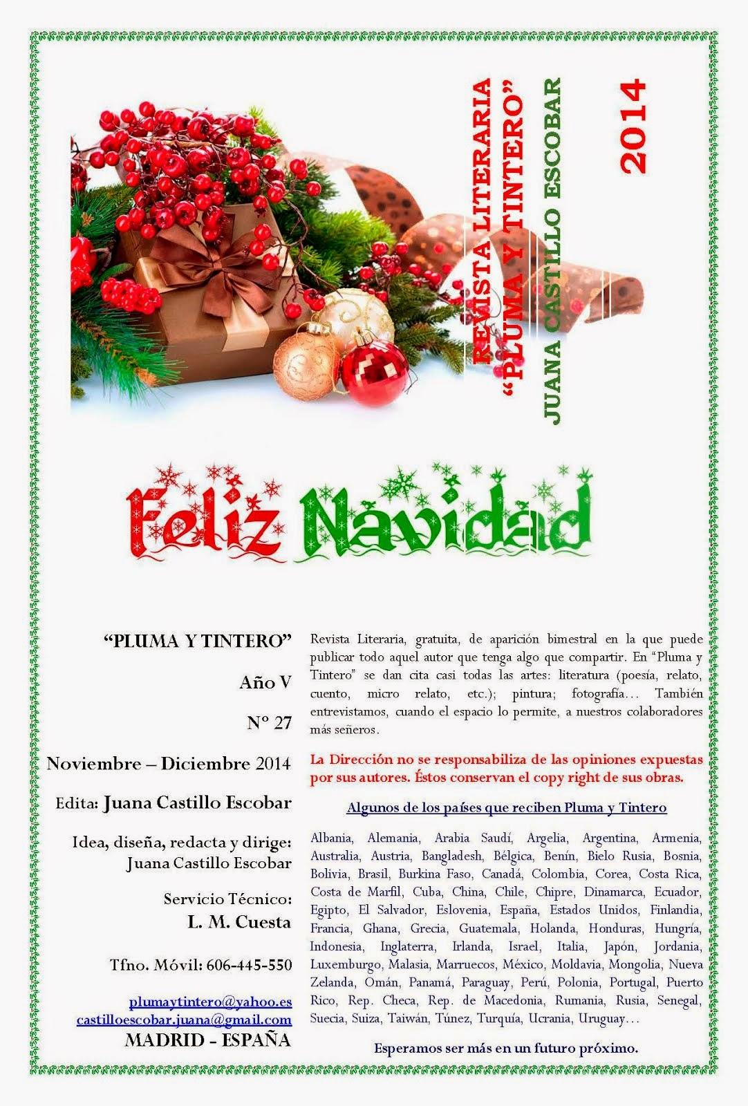Nº 27 - Año V - Noviembre-Diciembre 2014