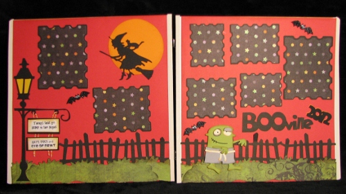 Halloween Double Layout