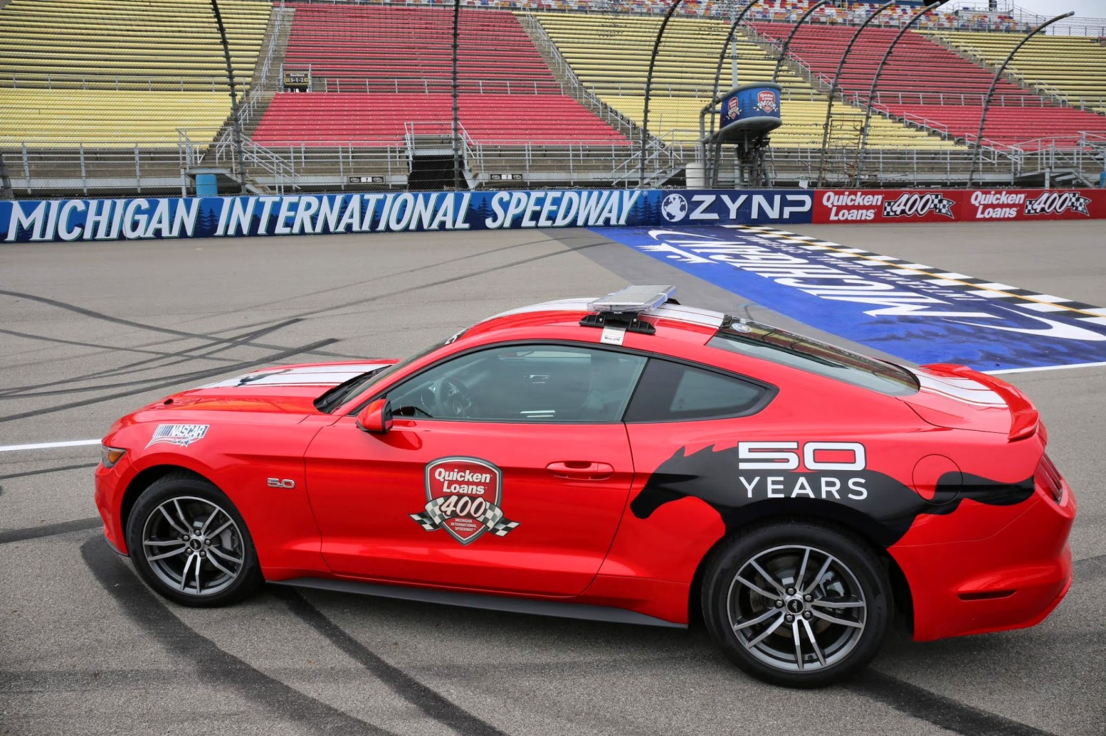Mustang Celebration Continues at Michigan International Speedway