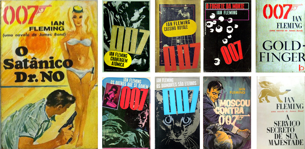 James Bond Book Cover Art ~ Illustrated the art of james bond book covers