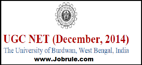 CBSE UGC NET December 2014 Burdwan University (Code No-11) Roll/Subject Wise Sub Centre List & Seating Allotments