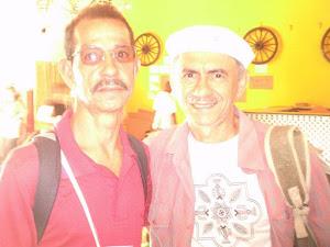 Joaquim Margarida e o cantor Zé Vicente