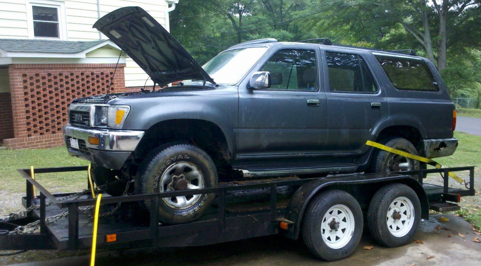 Toyota TDI 4Runner Project   Diesel Conversion  Purchased 1990