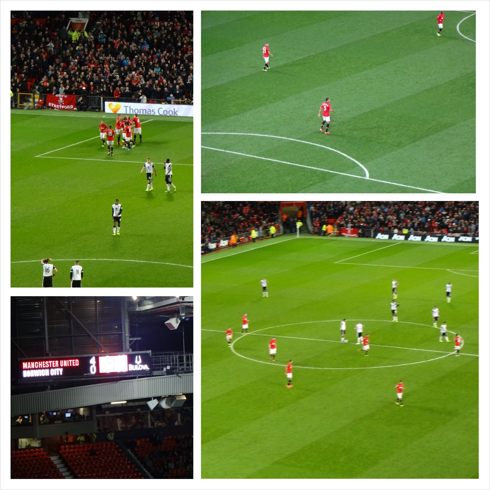 Manchester United vs Norwich City, Capital One Cup