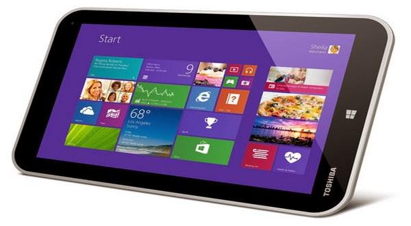Harga Tablet Toshiba Windows 8.1 Dibandrol Rp3.6 Juta