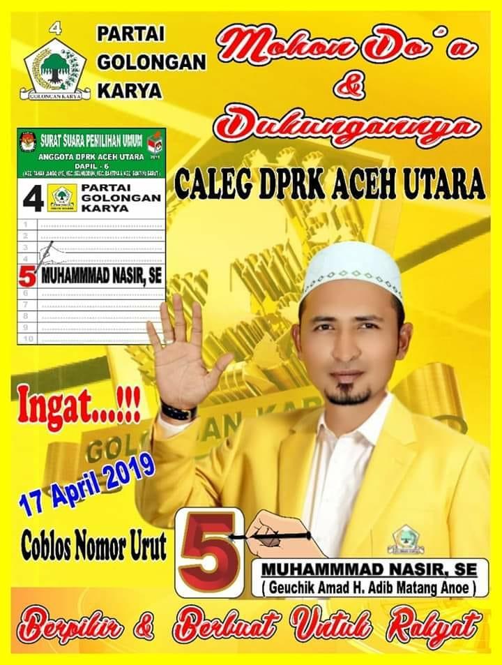 Calon DPRK Aceh Utara