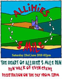 Allihies 5 mile race on the Wild Atlantic Way in West Cork... Sat 23rd June 2018