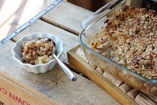 Breakfast Apple Granola Crisp Recipes — Dishmaps