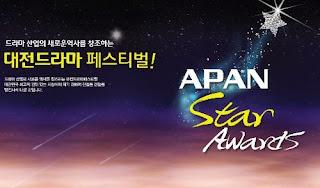 Daftar Pemenang APAN Star Awards 2013 Ajang Penghargaan Drama Korea