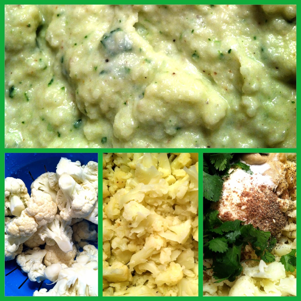 recipe for mashed cauliflower, how to make mashed cauliflower, cauliflower instead of potatoes recipe