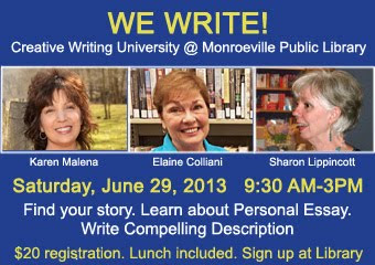Come Write With Us in Monroeville, PA