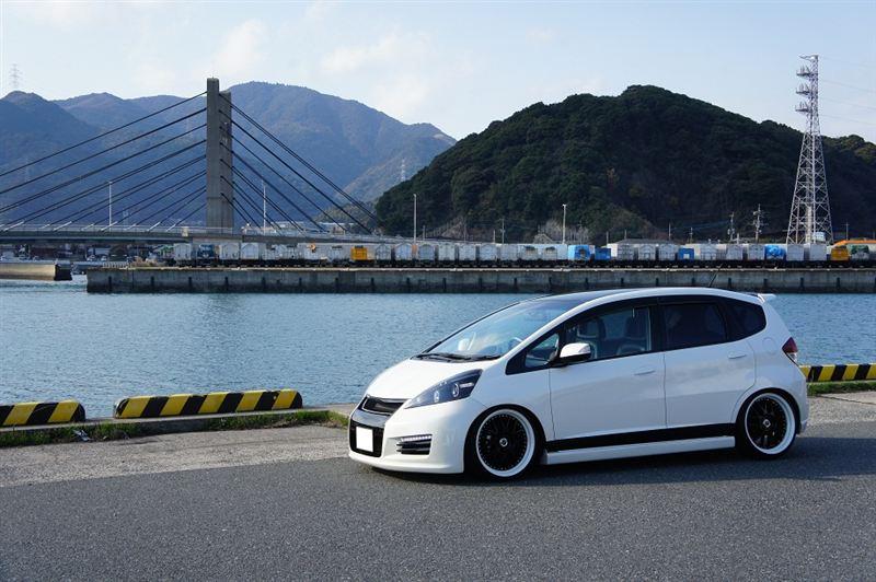 Honda Fit, Jazz, samochody po tuningu, ciekawe, fajne, galeria, nuotraukos