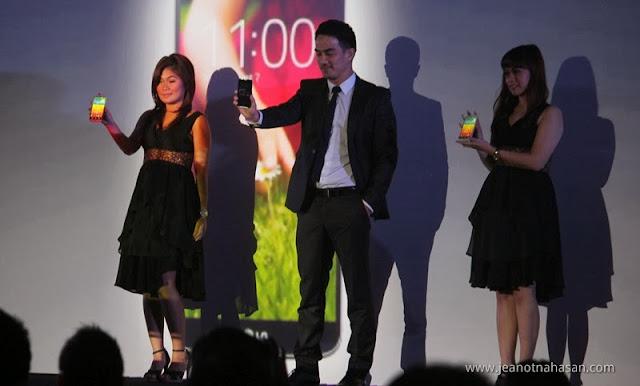 Joe Taslim, Brand Ambrassador LG G2