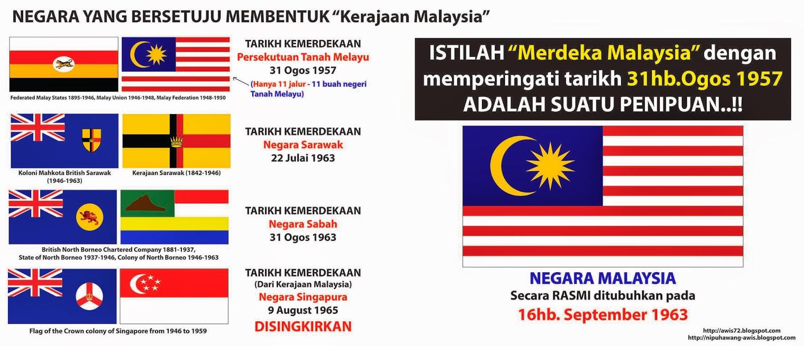Nipuhawang Blogspot Boikot 31 Ogos 1957 Kemerdekaan Malaysia