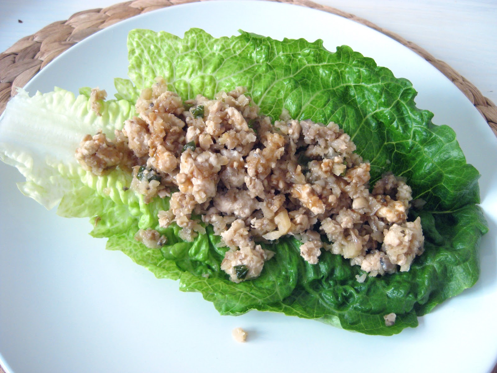 FEST: Asian Chicken Lettuce Wraps