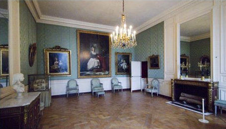 ... Antoinette And Created By Jean Henri Riesener In 1788 Carries A Bust Of Louis  XVII   The Son Who Would Die As A Prisoner During The French Revolution.