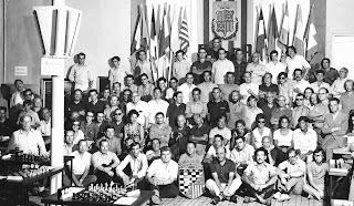 Participantes en el Torneo Abierto Internacional de 1971