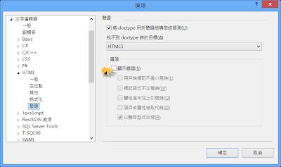 vs2012 HTML驗證修改