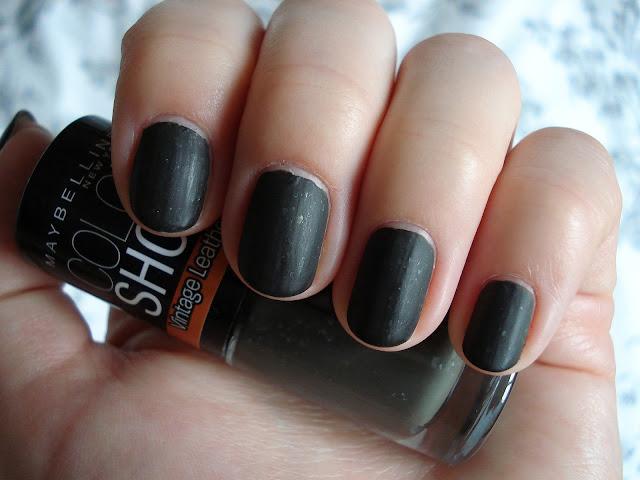 matt nail polish