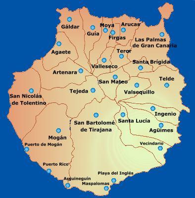 Blog de carlos municipios de las palmas de gran canaria - Isla de las palmas de gran canaria ...