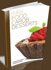 Raw Food Carob Desserts Book