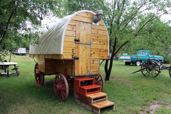 Tagabonds medora nd - The mobile shepherds wagon ...