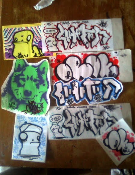 Graffiti Sticker Photo ♥°˚˚˚˚°♥ plate graffiti