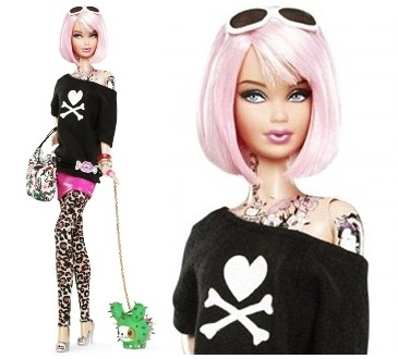 Butterfly tattoo barbie value book