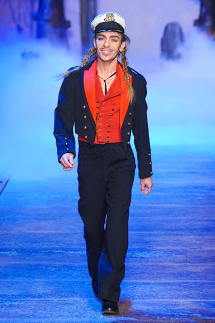 John Galliano at Christian Dior's Spring/Summer 2011 runway