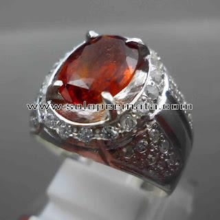 Batu Permata | Natural Spessartite garnet Asli | Natural Garnet Orange