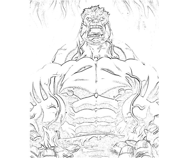 printable-marvel-ultimate-alliance-2-red-hulk-angry-coloring-pages