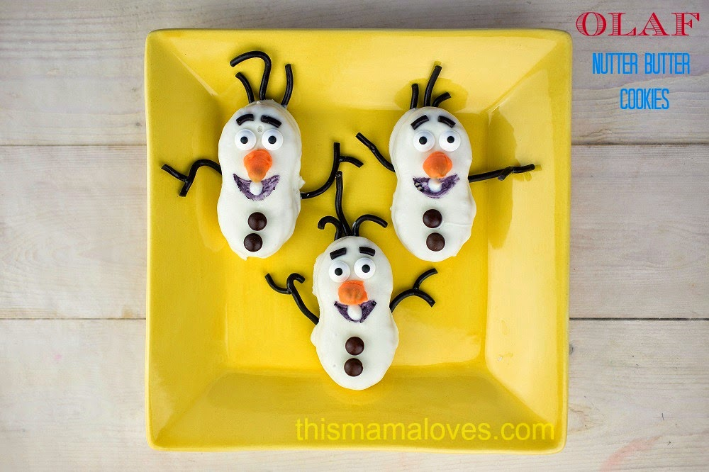 Disney's Olaf Themed Cookies Recipe