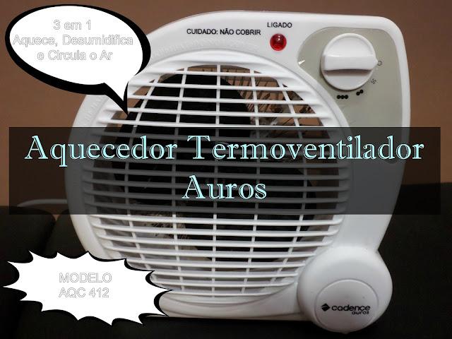 aquecedor termoventilador cadence
