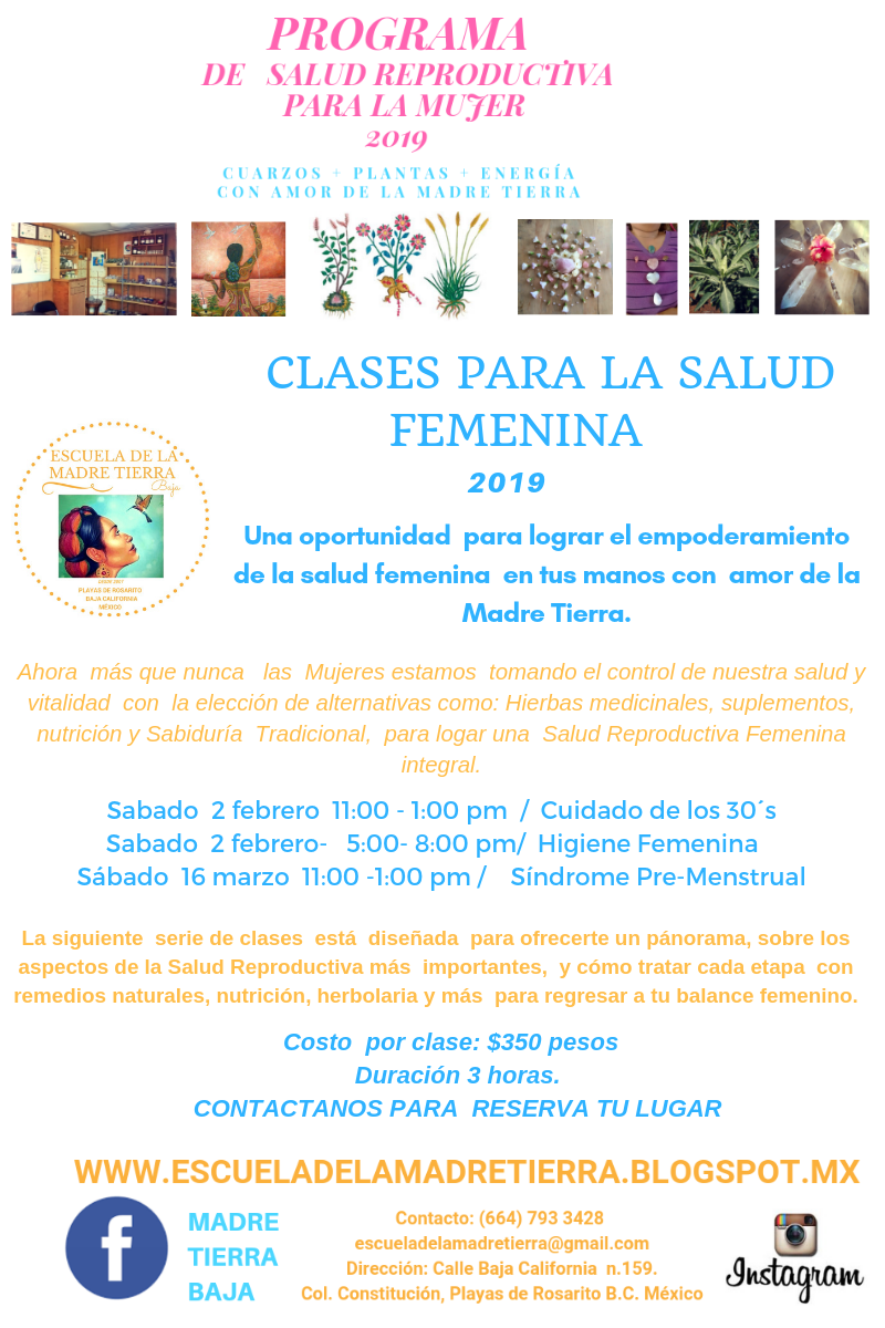 CLASES PARA SALUD FEMENINA