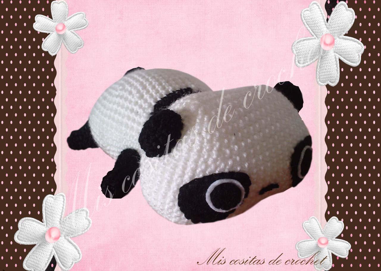 Amigurumi Tarepanda : Mis cositas de crochet: Amigurumi Tare panda de crochet